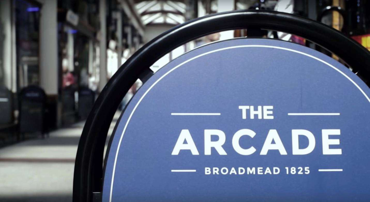 Come and shop locally at The Arcade, Bristol