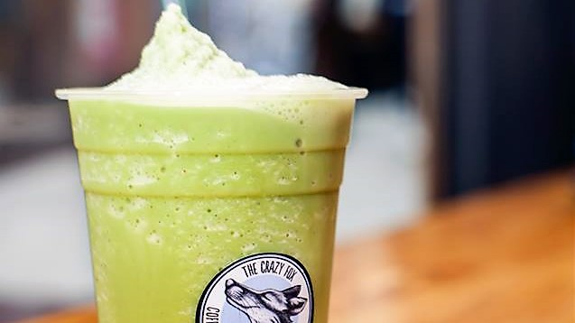 Iced Macha at crazy fox