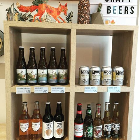 The amazing range of beers at Crazy Fox