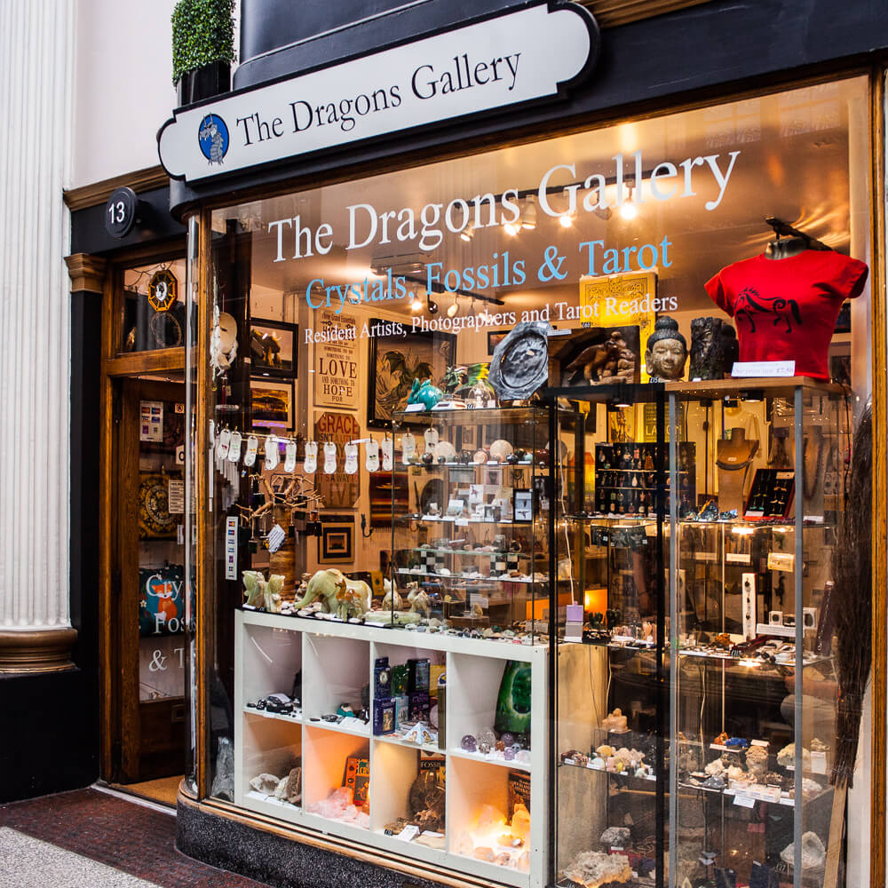 The Dragons Gallery at The Arcade in Bristol