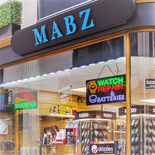 Incredible products and service at Mabz at The Arcade in Bristol