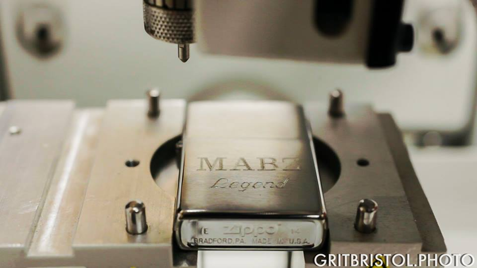 Engraving Services in Bristol at Mabz - and Zippos!